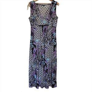 Elementz Paisley Maxi Dress Size Large